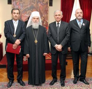 Додељен орден СПЦ Милораду Симићу